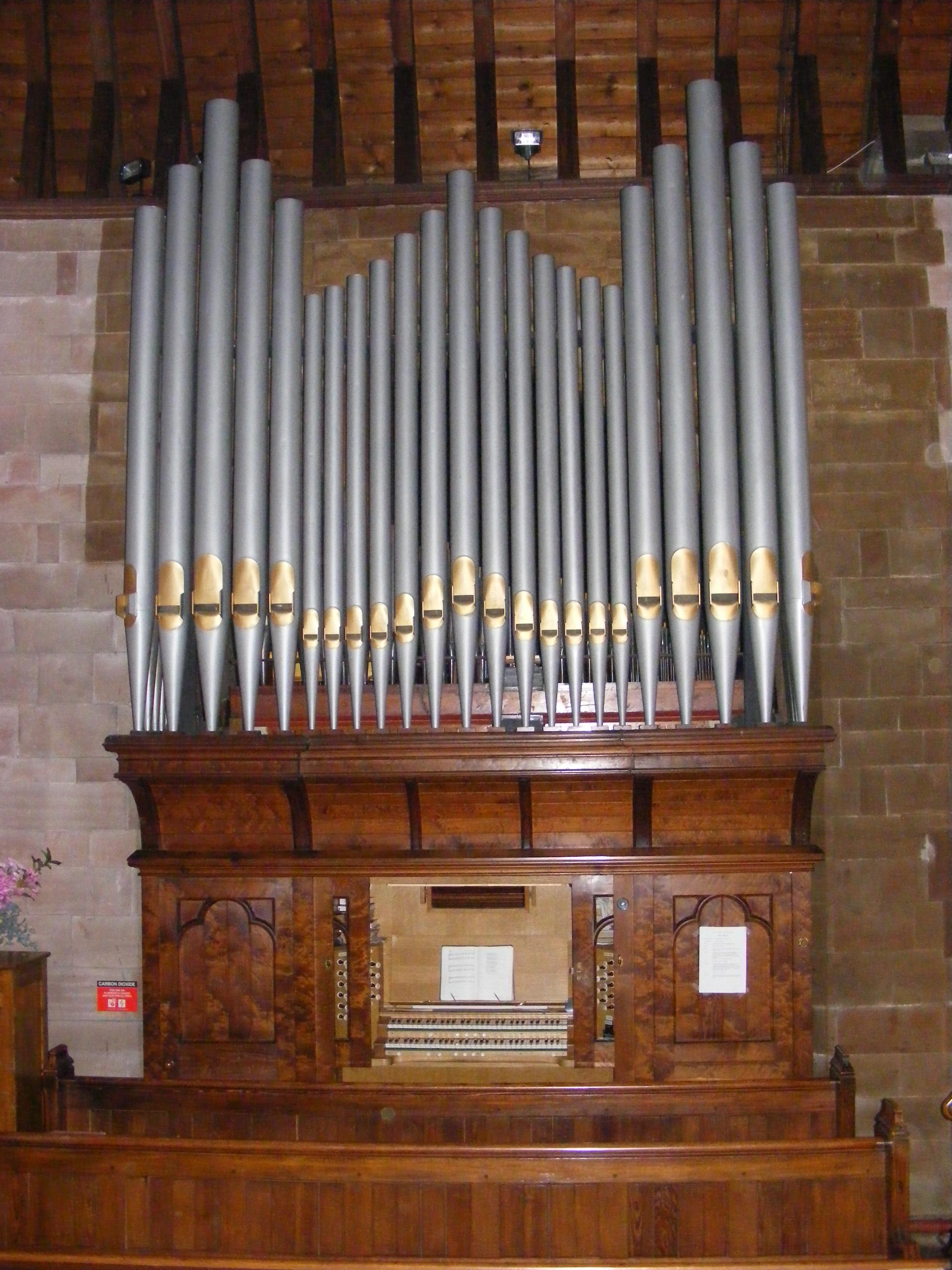 The Church Organ St John S Methodist Church